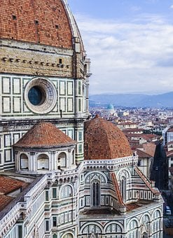Florence, Church, Cathedral, Dom, Building