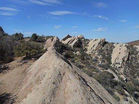 Devil's Punch Bowl, California, Desert, Mojave Desert
