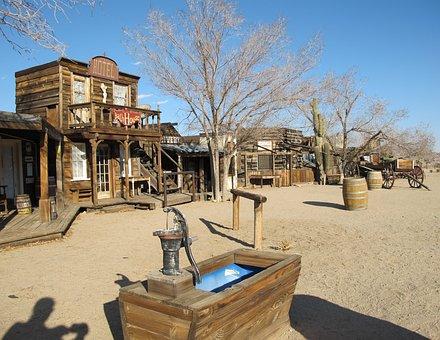 Ghost Town, Pioneertown, California, Mojave Desert