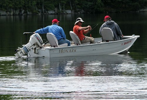 Fishermen, Fishing, Boat, Camping, Bass, Northern Pike