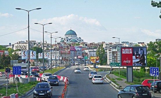 Belgrade, Incident Road, Capital, Dom, Hl, Sava