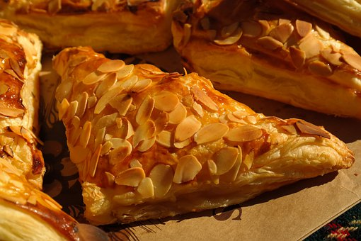 Apple Bags, Pastries, Puff Pastry, Delicious, Breakfast