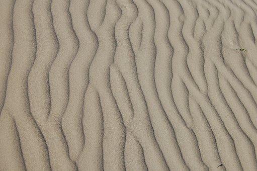 Sand, Ripple, Beach, Desert, Natural, Landscape