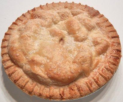 Apple Pie, Pastry, Baked, Food, Dessert, Sugar