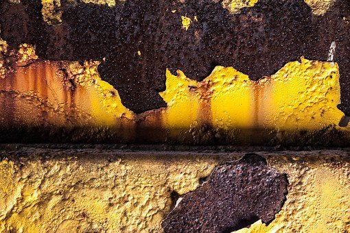 Yellow Dirt, Rust, Detail, Yellow, Equipment, Old, Dirt