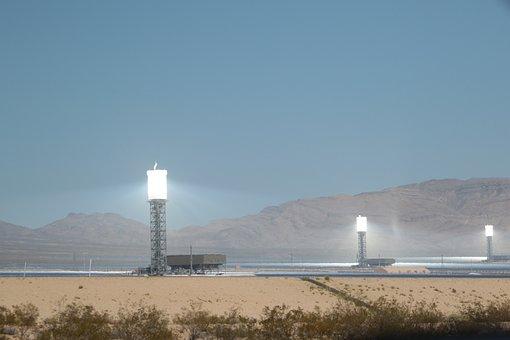 Solar Power, California, Solar, Electricity, Energy