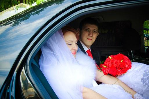 Wedding, The Groom, Bride, Fata, Stroll, Just Married
