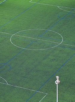 Football, Footballers, Stadium, Green, Football Pitch