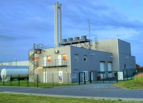 Biomass Heating Power Plant, Werl, Germany, Energy