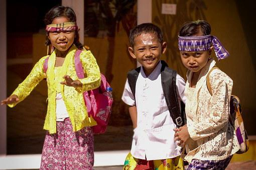Children, School Children, Girl, Boy, Happy, Laugh