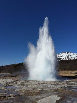 Iceland, Geyser, Geothermal, Nature, Hot, Volcanic