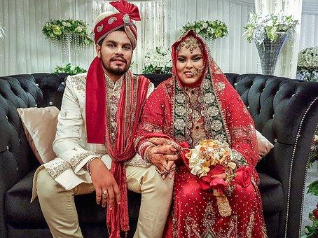 Wedding, Couple, Colourful, People, Portrait, Indians