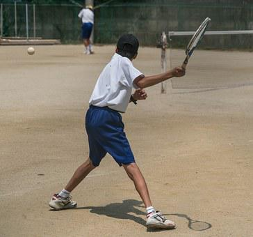 Japan, Person, People, Tennis, Tennis Racket, Action