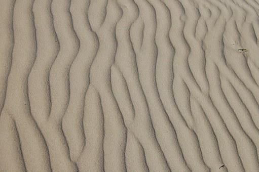 Sand, Ripple, Beach, Desert, Natural, Landscape
