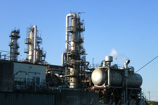 Mie Prefecture, Oil, Factory, Manufacturing, Plant