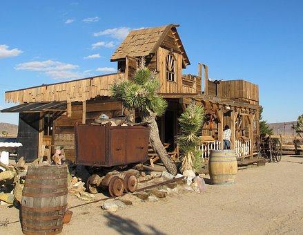 Ghost Town, California, Mojave Desert, Western