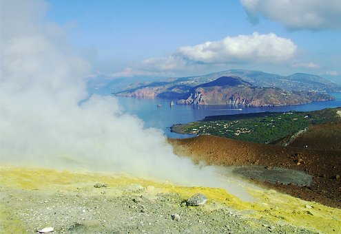 Eruption, Nature, Volcanic, Hot, Geothermal, Thermal