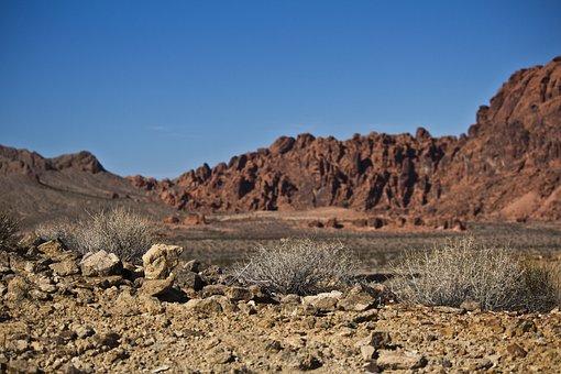 Valley Of Fire State Park, Desert, Nev, Nevada
