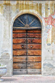 Door, Wood, Texture, Paint, Wall, Color, Old, Ancient