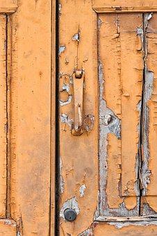 Door, Wood, Old, Texture, Node, Paint, Handle, Color