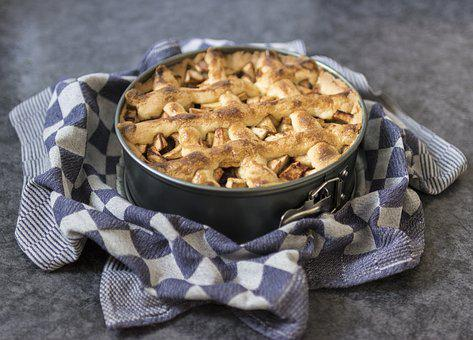 Apple Pie, Cake, Party, Pastry, Sweet, Tasty