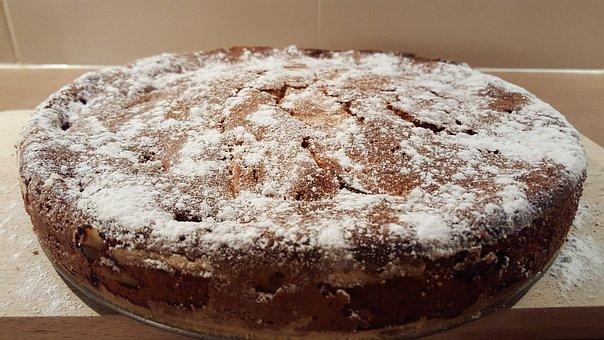Cake, Pastry, Snacks, Apple Pie, Apple Cake, Sweet
