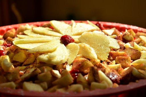 Apple Cake, Tart, Cake, Fruits, Dessert, Pastry, Sweet
