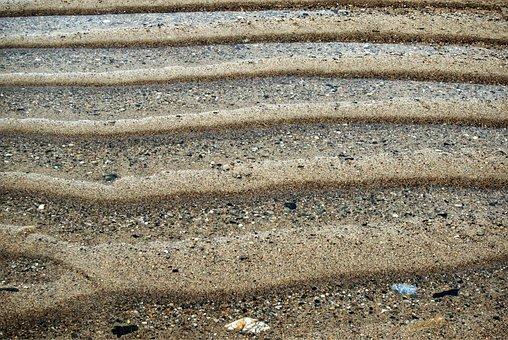 Ripples, Sand, Lines, Ridge, Pattern, Beach, Rippled