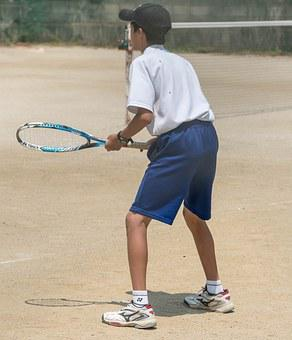 Japan, Person, People, Tennis, Tennis Racket, Child