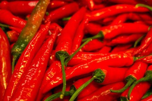 Pepperoni, Paprika, Red, Chili, Sharp, Fruity Hot