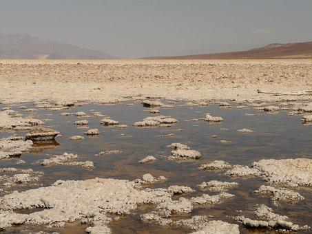 Badwater, Salt Pan, Salt Lake, Salt Water, Salt
