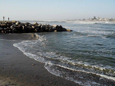 Seascape, Water, Ripples, Sea, Sky