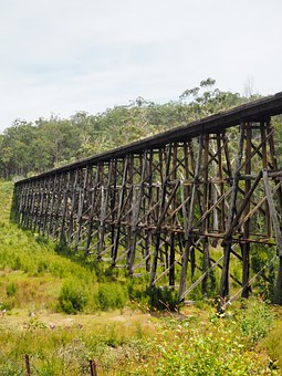Trestle Bridge, Bridge, Stony Creek Trestle Bridge