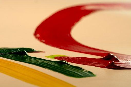 Paint, Streak, Color, Design, Texture, Backdrop, Motion