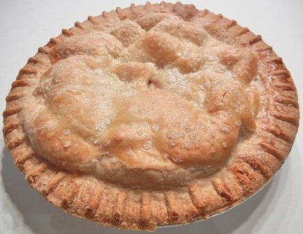Apple Pie, Pastry, Baked, Food, Sugar, Dessert