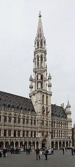 Brussels, City ​​hall, The Town Hall In Brussels