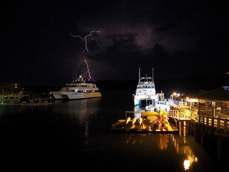 Lightning, Storm, Stormy, Sky, Thunder Storm
