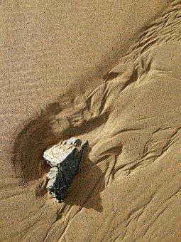 Sand, Pattern, Beach, Tide, Stream, Ripple, Textured