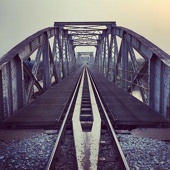 Train, Bridge, 1910, History, Africa