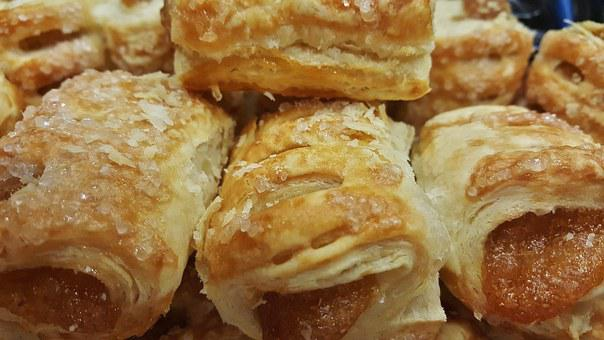 Pastry, Pastries, Apple Bites, Turnovers, Dessert
