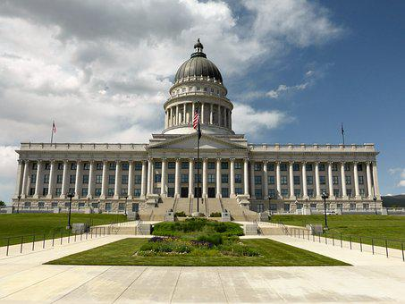 Building, Salt Lake City, Usa, Capitol