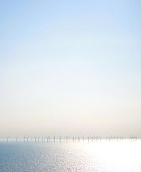 Wind, Energy, Power, Sea, Sun, Ocean, Blue, Water, H20