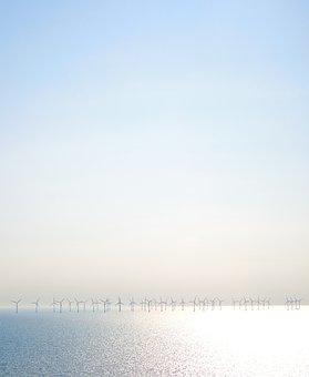 Wind, Energy, Power, Sea, Sun, Ocean, Blue, Water, H20