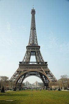 Paris, Tour Eifel, Tower, Tourism, France, Architecture