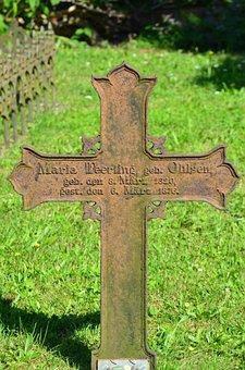 Borkum, Cemetery, Tombstone, Whalers Cemetery