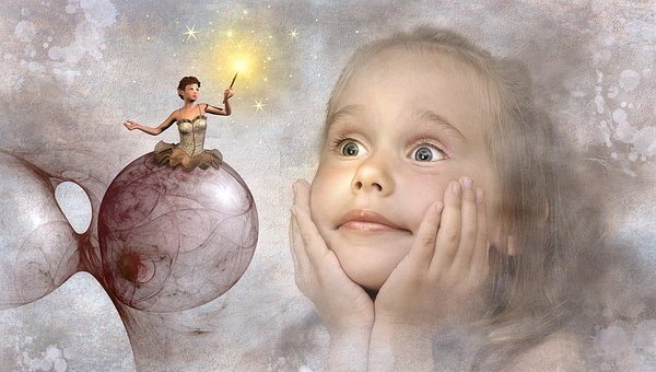 Fantasy, Child, Elf, Fee, Girl, Cheerful, Fairy Tales