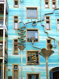 Dresden, Building, Architecture, Construction Art