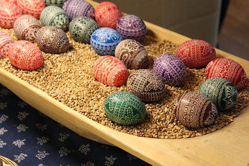 Sorbian, Customs, Arts Crafts, Easter Egg