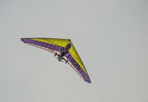 Sail, Glider, Motorflug, Motor, Flyer, Free, Aerobatics