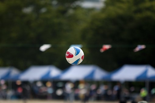 Athletic, Foot Volleyball, Ball, Foot Ball, Goji